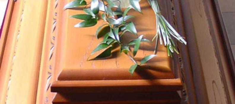 Sargbouquet klein – Aufpreis 35,- €